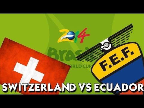 switzerland vs ecuador, poster switzerland vs ecuador, result match switzerland vs ecuador 16 jun 2014