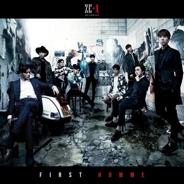 [Mini Album] ZE:A - FIRST HOMME