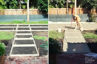 Patio transformation