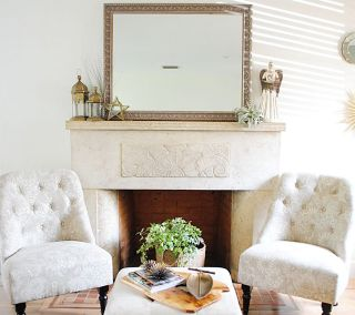 The simplicity of Spring decor