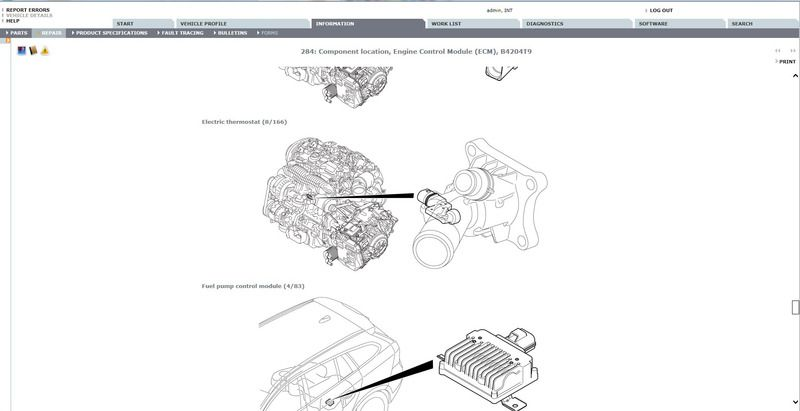 Volvo 240 Workshop Wiring Diagram
