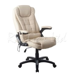 Desk Chair Piston Kids Table And Set Raygar Luxury Leather 6 Point Massage & Reclining Computer Office | Ebay