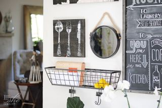 Kitchen wall galleries with a function