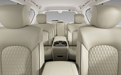 suv with 3 rows and captains chairs accent chair wood arms 10 best 7 passenger suvs 2019 comparison guide by germain cars infiniti qx80 interior 02