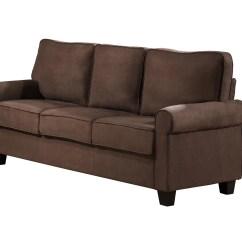 Sofa Microfiber Fabric Grey Rattan Corner Set Upholste Stationary Living Room Ebay