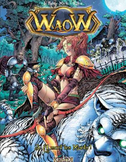 Waow Tome 3 A mort les morts