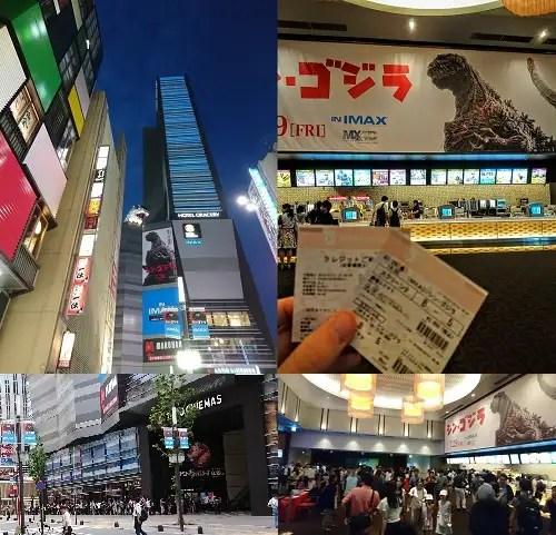 Tokyo et Godzilla