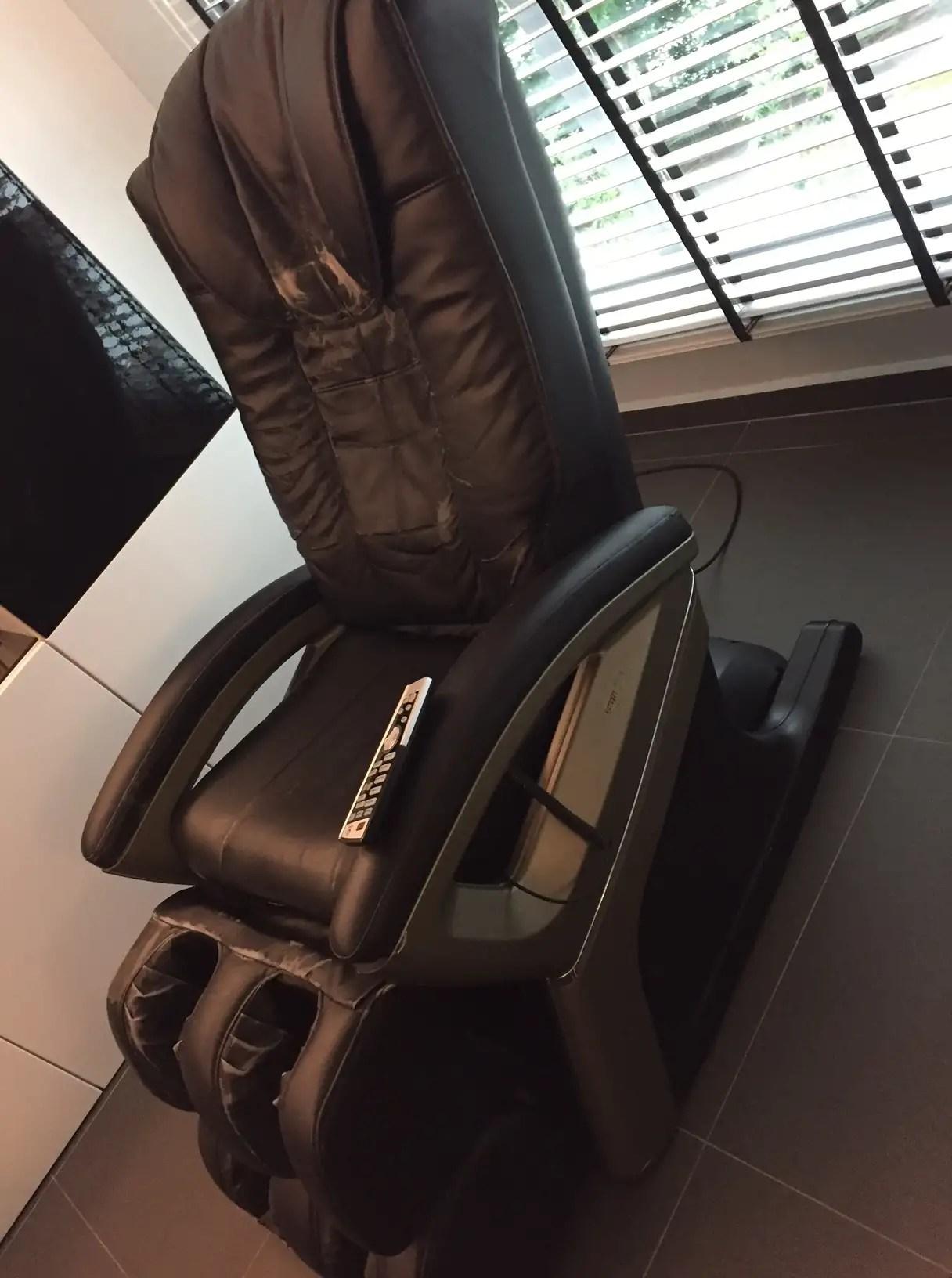 ogawa massage chair pickup truck tailgate wts used hardwarezone sg