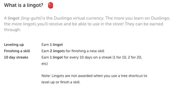 Earn Lingots