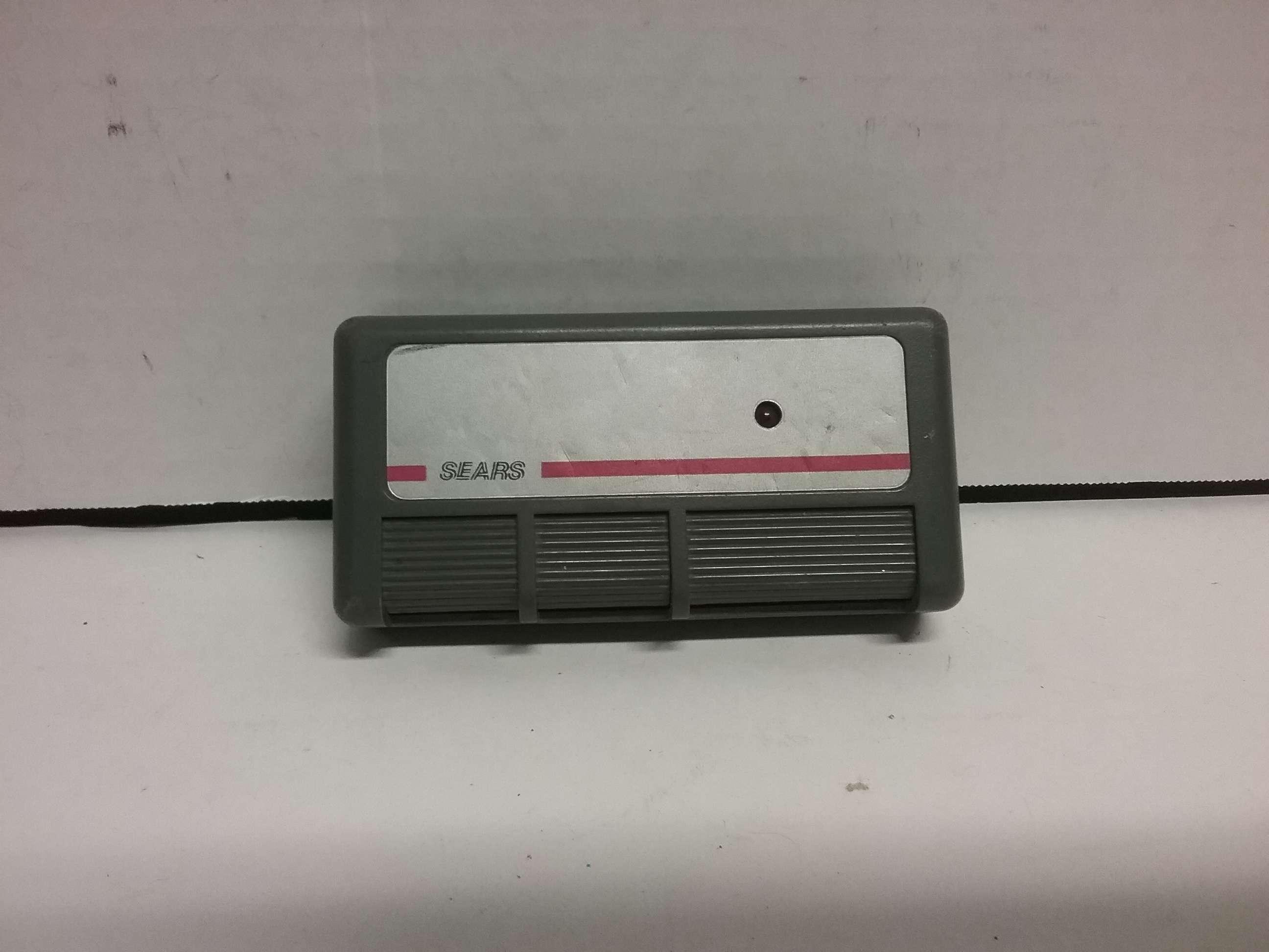 Sears Craftsman 3 button Garage Door  gate remote opener 13953718  eBay