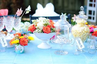 Alice in Wonderland tea time party