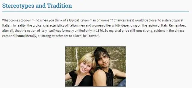 Rocket Italian culture