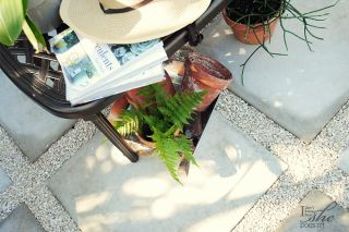 How to create a sitting outdoor area