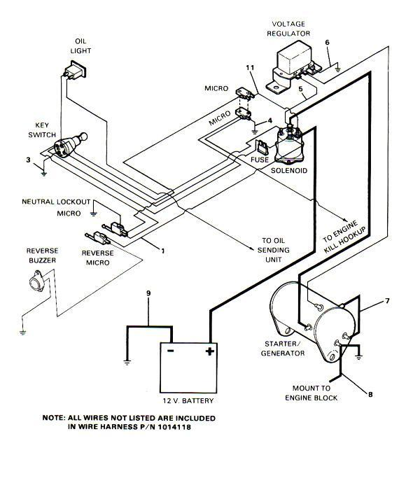 1990 club car ds wiring diagram 1972 dodge dart looking for simply way to wire my gas carry all1