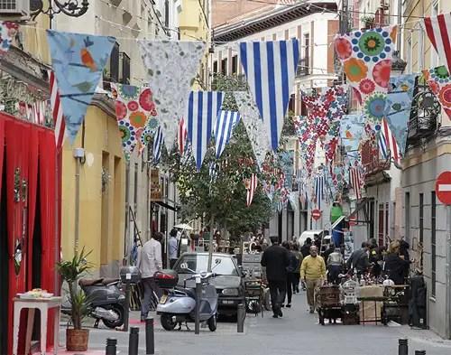 Mercadillo Calle San Pedro