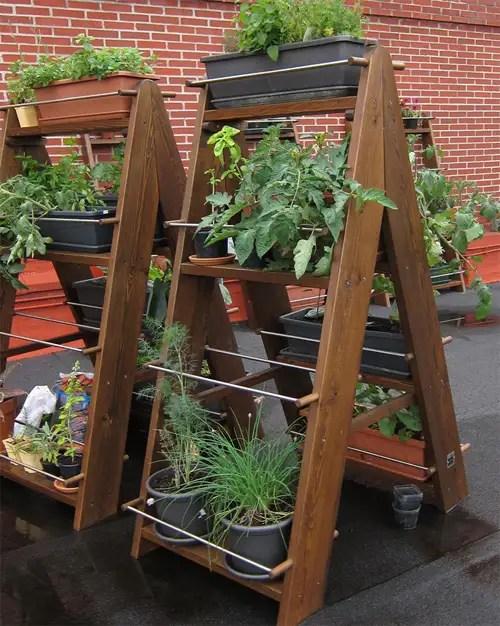 Jardines verticales y huertos urbanos decofeelings - Huerto vertical casero ...