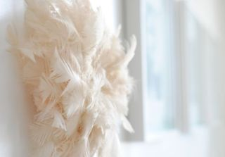 juju hat decor diy feathers