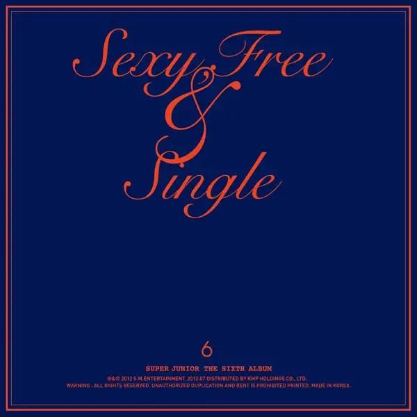 [Album] Super Junior - Sexy, Free & Single