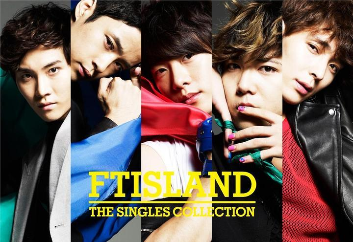 [Album] FTISLAND - THE SINGLES COLLECTION [Japanese]