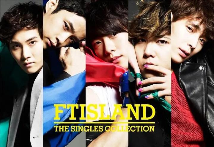[Album] FTISLAND - THE SINGLES COLLECTION [Japanese]