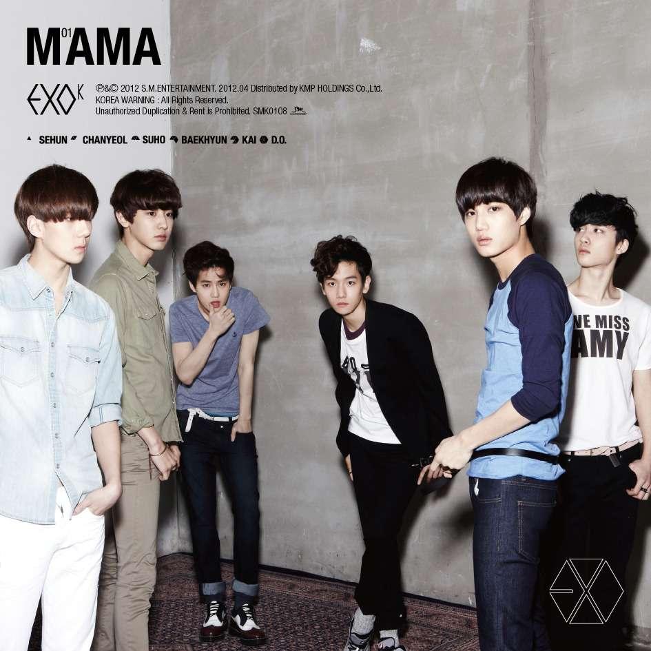 Mini Album] EXO-K – MAMA [The 1st Mini Album] | Purple of Sona