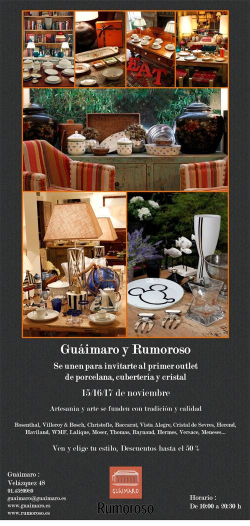 Invitación Guaimaro & Rumoroso outlet