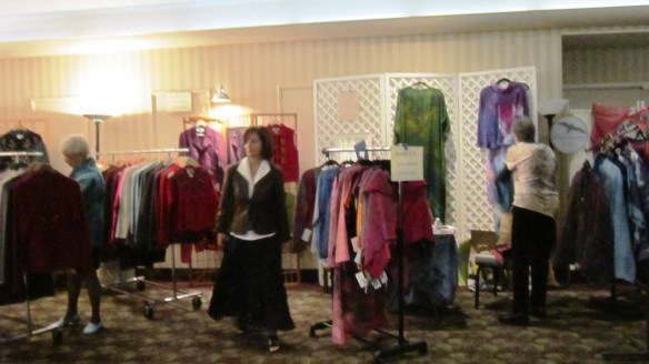 Several of the wearable clothing vendors