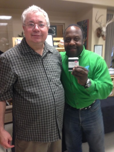 Steve was on Fox 8 Morning Show, and the feature known as Kickin' it with Kenny on Earth Day, Tuesday April 22nd. Thank you Kenny for generating a buzz on the sexy man soap.
