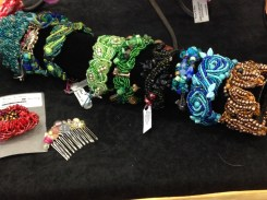 bracelets and hair clips