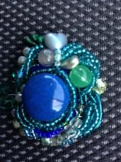 Wire Crochet Pin