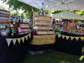 Our booth at BayArts 2014