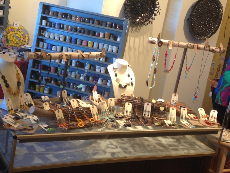 Lisa's Curvey Willow Studios display