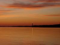 coucher de soleil sur bonne anse