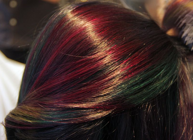 Heres How You Transform Brunette Hair To This Multicolor