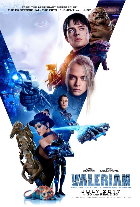 Algemene Valerian and the City of a Thousand Planets poster