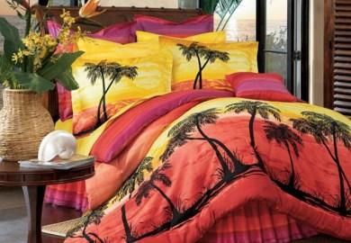 Tropical Sunset Bedding