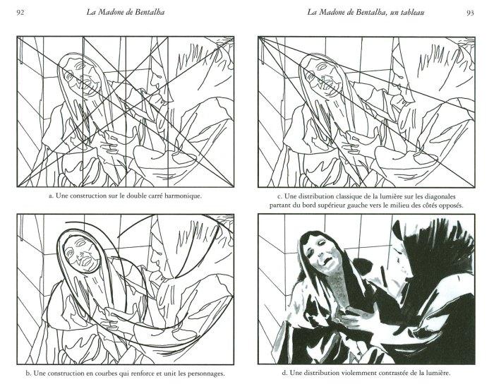 1. Diagrams by Juliette Hanrot, La Madone de Bentalha, 2012.