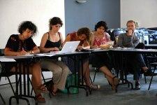 Septembre 2009, séminaire à Porquerolles.