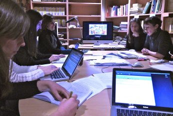 Janvier 2012, atelier à l'INHA.