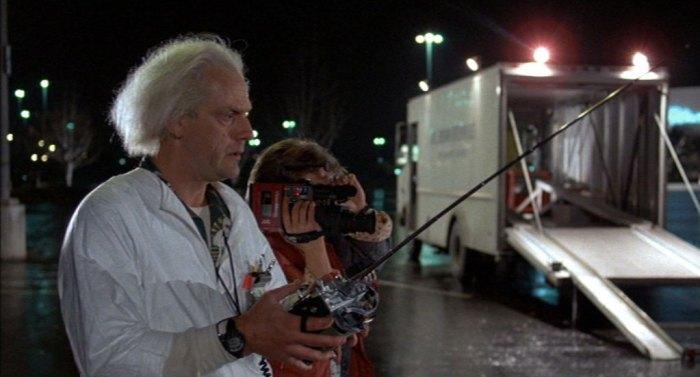 Retour vers le futur, Robert Zemeckis, 1985.
