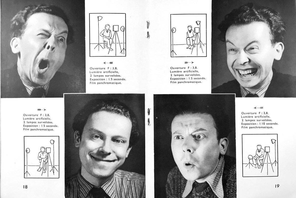 Gilbert de Chambertrand, portraits expressifs, 1937.