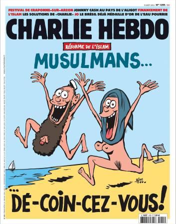 Charlie-Hebdo, 11 août 2016.