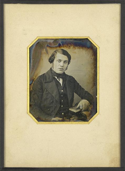 Daguerre, portrait d'homme (2), BNF.