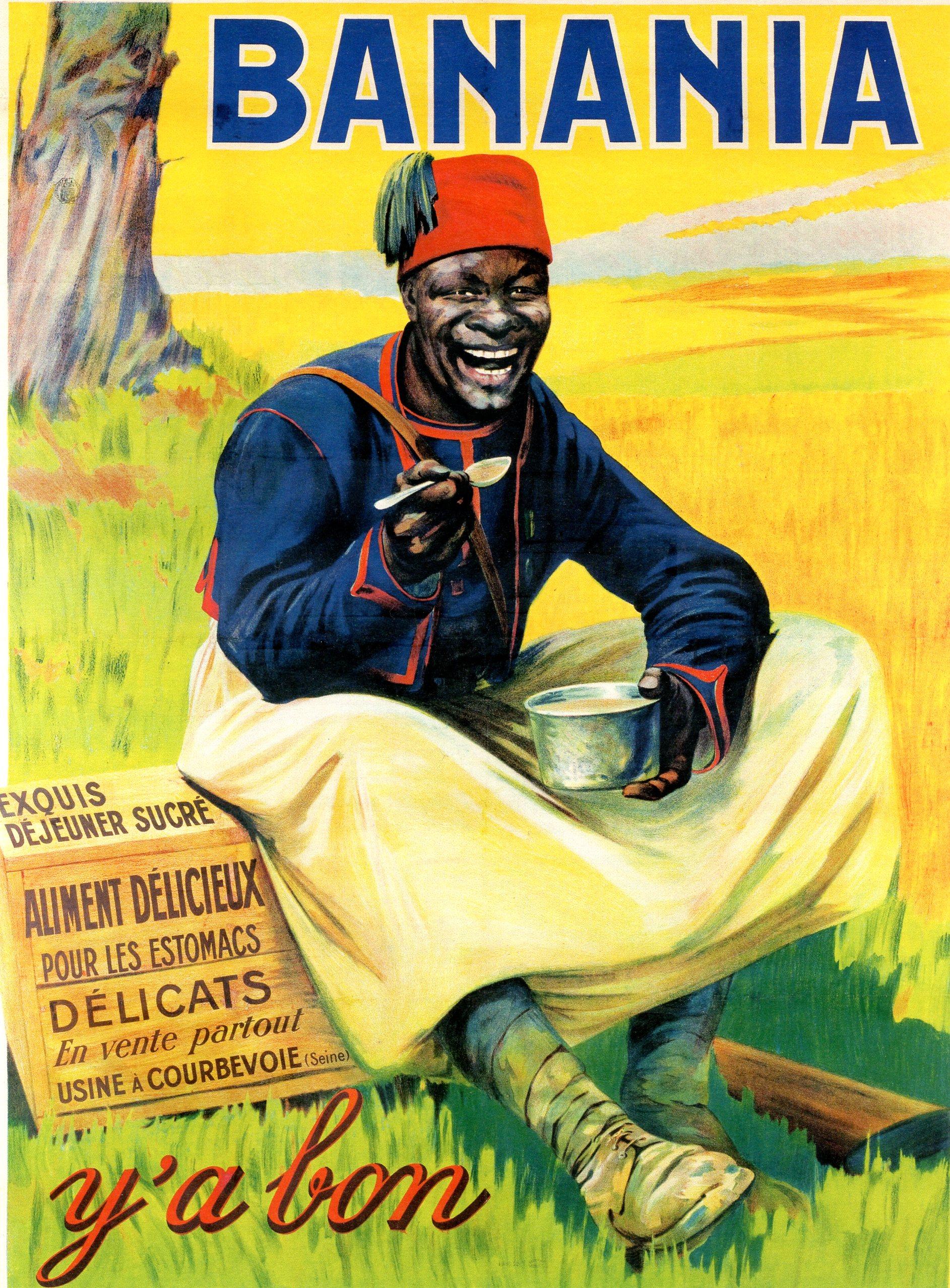 Giacomo de Andreis, publicité Banania, 1915.