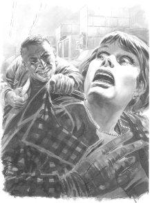 Angelo Di Marco, illustration pour Détective.