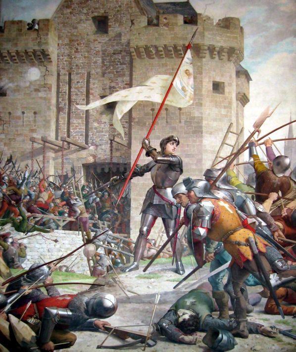 Eugène Lenepveu, Jeanne d'arc au siège d'Orléans, Panthéon, 1889.