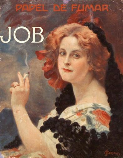 Paul Gervais, affiche JOB, 1910.