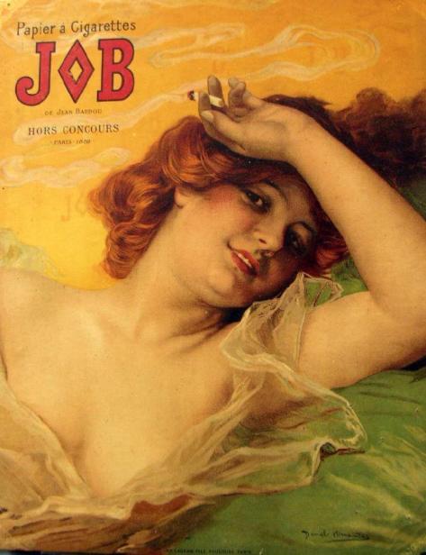 Daniel Hernández, affiche Job, 1898.