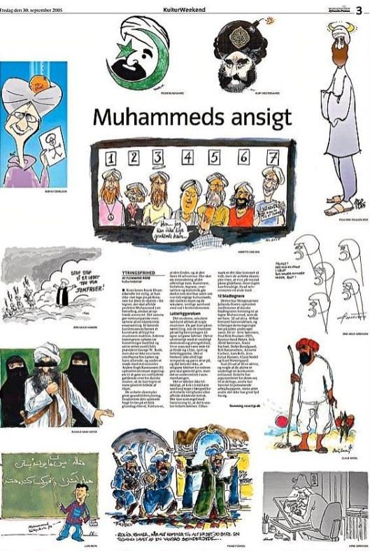 Jyllands-Posten, 30/09/2005.