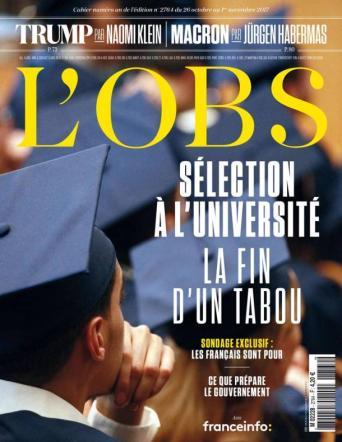L'Obs, 26/10/2017.